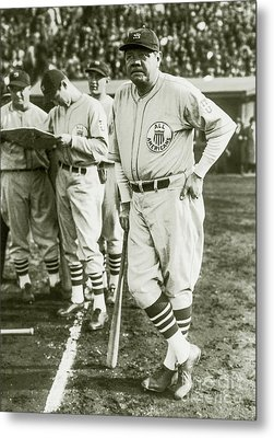 Babe Ruth All Stars Metal Print