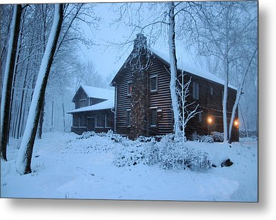 Baby Its Cold Outside Metal Print by Kristin Elmquist