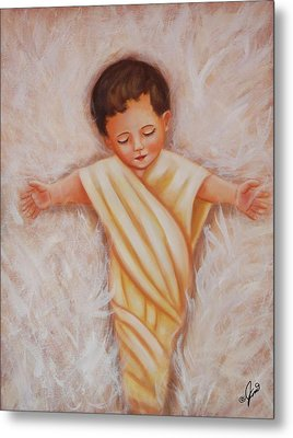 Baby Jesus Metal Print