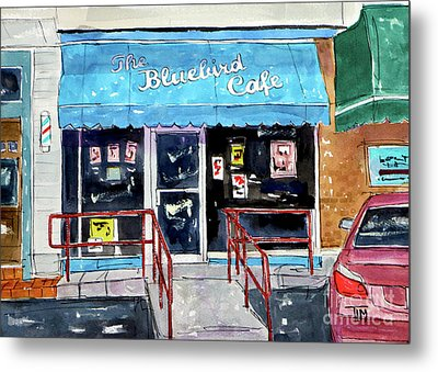 Back At The Bluebird Metal Print by Tim Ross
