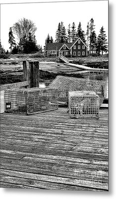 Back In Maine Metal Print
