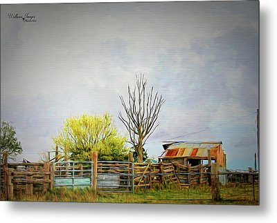 Metal Print featuring the photograph Back Of Beyond by Wallaroo Images