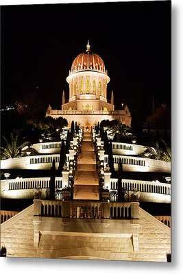 Bahai Shrine Metal Print