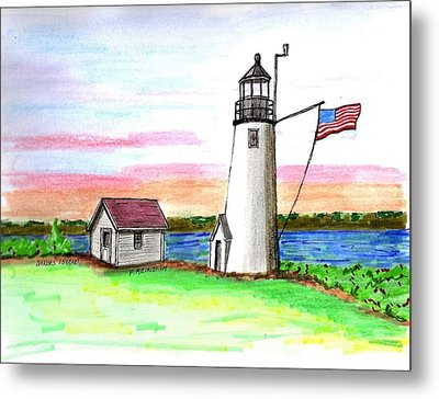 Bakers Island Metal Print by Paul Meinerth