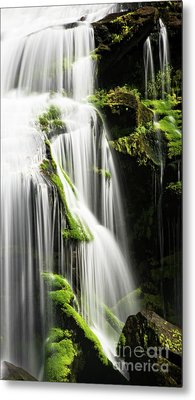 Bald River Falls Metal Print