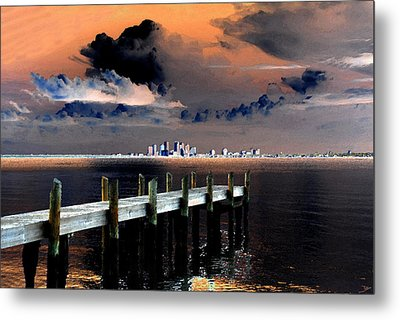Ballast Point Metal Print by David Lee Thompson