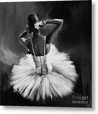Ballerina Dance 0444a Metal Print by Gull G