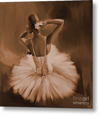 Ballerina Dance 0444c Metal Print by Gull G