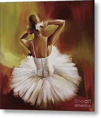 Ballerina Dance 0444g Metal Print by Gull G