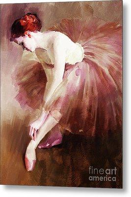 Ballerina Girl  Metal Print by Gull G