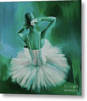 Ballet Dance 044ec Metal Print by Gull G