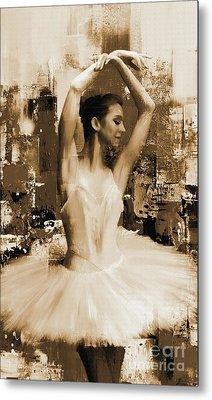 ballet dancer VC45 Metal Print by Gull G