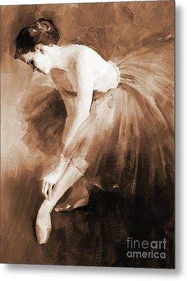 Ballet Girl 012 Metal Print by Gull G