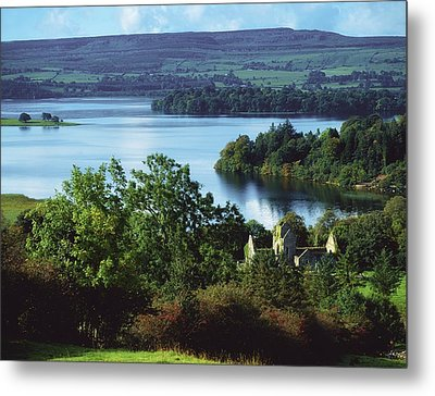 Ballindoon Abbey, Lough Arrow, County Metal Print by The Irish Image Collection