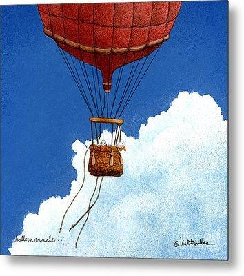 Balloon Animals... Metal Print by Will Bullas