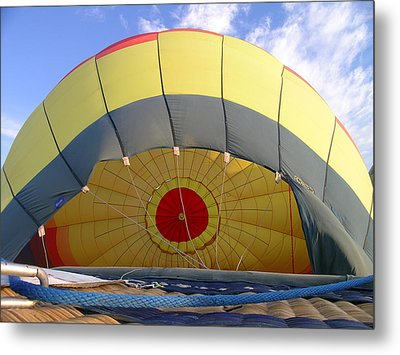 Balloon Inflation Metal Print by Jim DeLillo