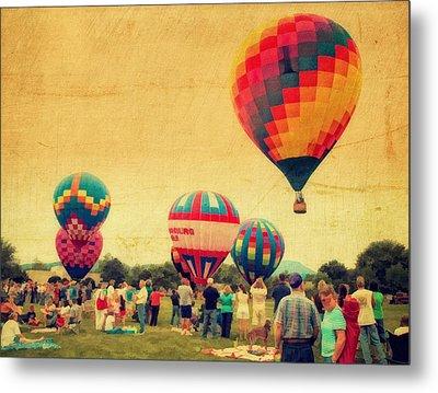 Balloon Rally Metal Print by Kathy Jennings