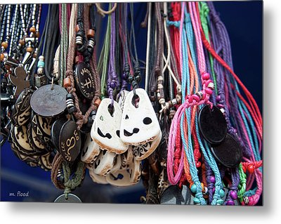 Metal Print featuring the photograph Bangles And Beads by Michael Flood