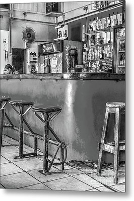 Bar Washington-limon Metal Print