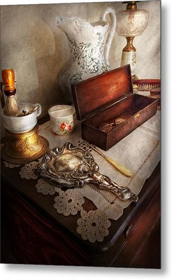 Barber - The Morning Ritual Metal Print