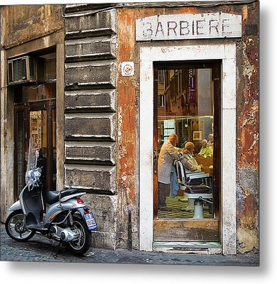 Metal Print featuring the photograph Barbiere by Stefan Nielsen