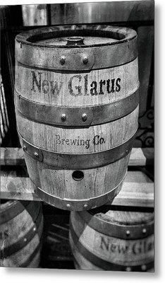 Barrel Of Suds Metal Print