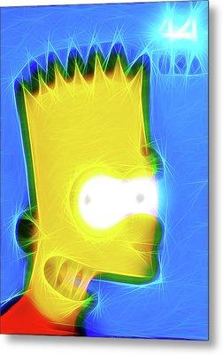 Bart Simpson Metal Print