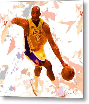 Metal Print featuring the painting Basketball 24 A by Movie Poster Prints