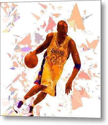 Metal Print featuring the painting Basketball 24 by Movie Poster Prints
