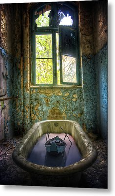 Bath Toy Metal Print by Nathan Wright