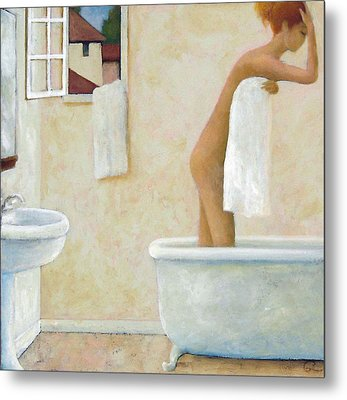 Bather Metal Print by Glenn Quist