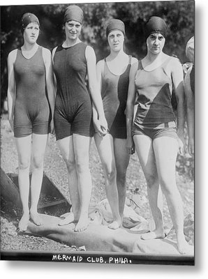 Bathing Beauties, The Philadelphia Metal Print by Everett