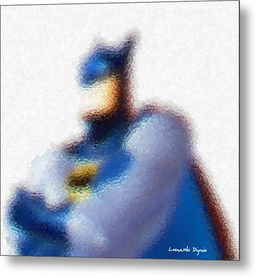 Batman - Pa Metal Print