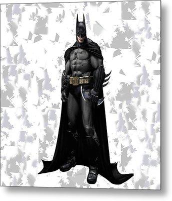Batman Splash Super Hero Series Metal Print