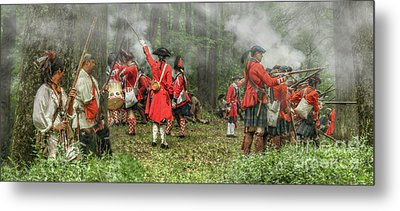 Battle For Empire French And Indian War Metal Print by Randy Steele