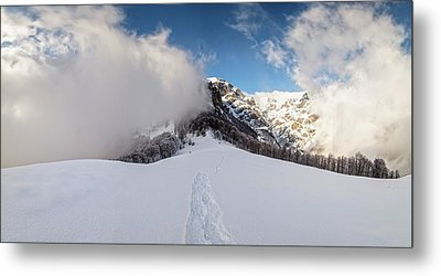Battle Of Earth And Sky Metal Print by Evgeni Dinev