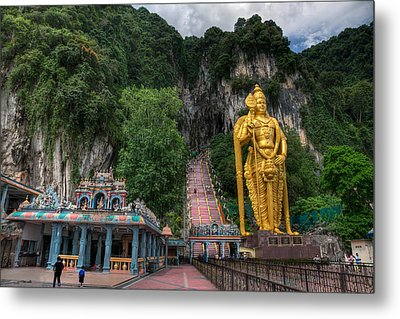 Batu Caves Metal Print by Adrian Evans