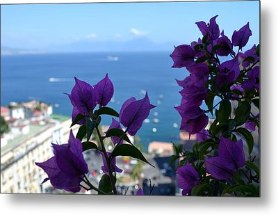 Bay Of Naples Metal Print by Terence Davis