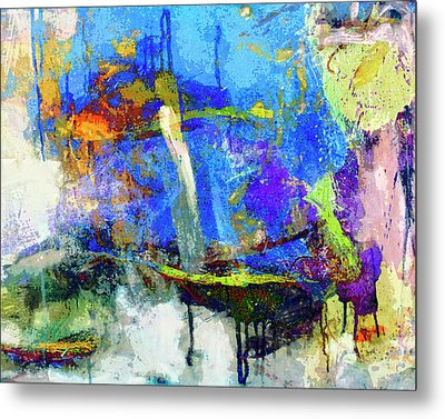 Metal Print featuring the painting Bayou Teche by Dominic Piperata