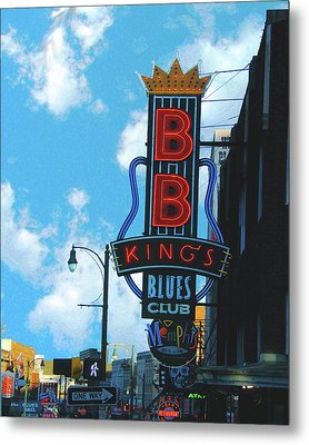 Bb Kings Metal Print