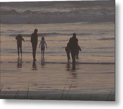 Beach Quality Time Metal Print by Gregory Smith