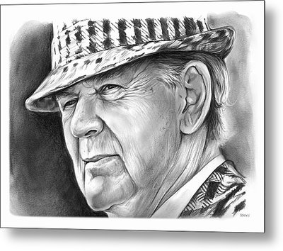 Bear Bryant 2 Metal Print by Greg Joens