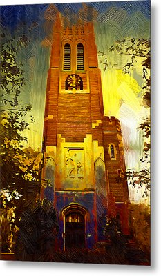 Beaumont Tower  Metal Print by Paul Bartoszek