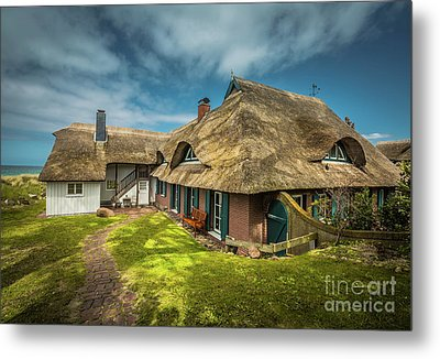 Beautiful Cottage Metal Print by Eva Lechner