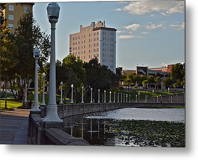 Beautiful Downtown Lakeland Metal Print