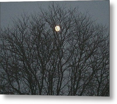 Beautiful Moon Metal Print by Sonali Gangane