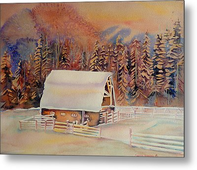 Beautiful Skies  Metal Print by Carole Spandau