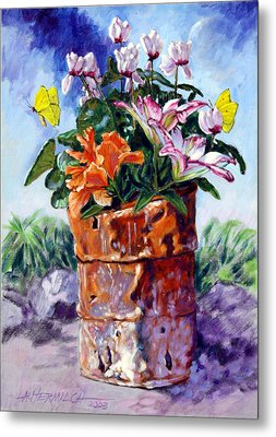 Beauty Grows Everywhere Metal Print by John Lautermilch