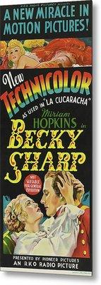 Becky Sharp 1935 Metal Print