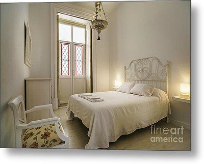 Metal Print featuring the photograph Bedroom Apartment In The Heart Of Cadiz by Pablo Avanzini